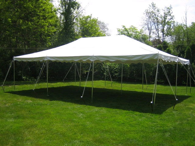 Where to rent CANOPY, 20  X 30  POLE in Greater Kankakee area.
