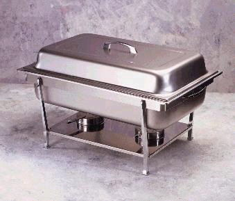 Where to rent DISH,CHAFER 8.3 QT in Greater Kankakee area.