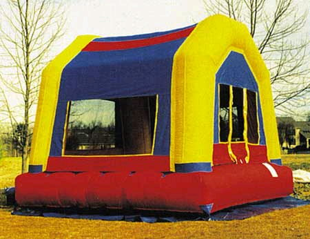 Where to rent INFLATABLE BOUNCE FUNHOUSE 13 in Greater Kankakee area.
