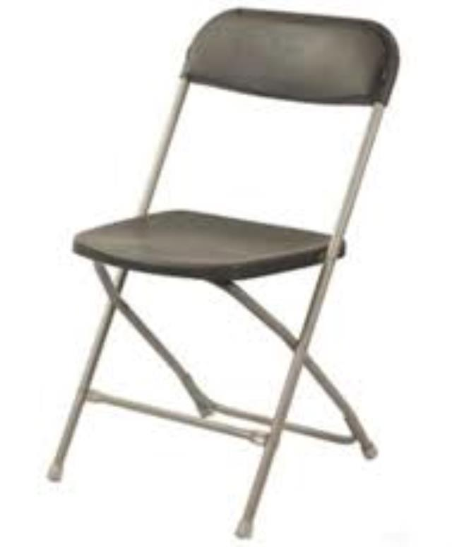 Where to find CHAIR, FOLDING BROWN in Kankakee